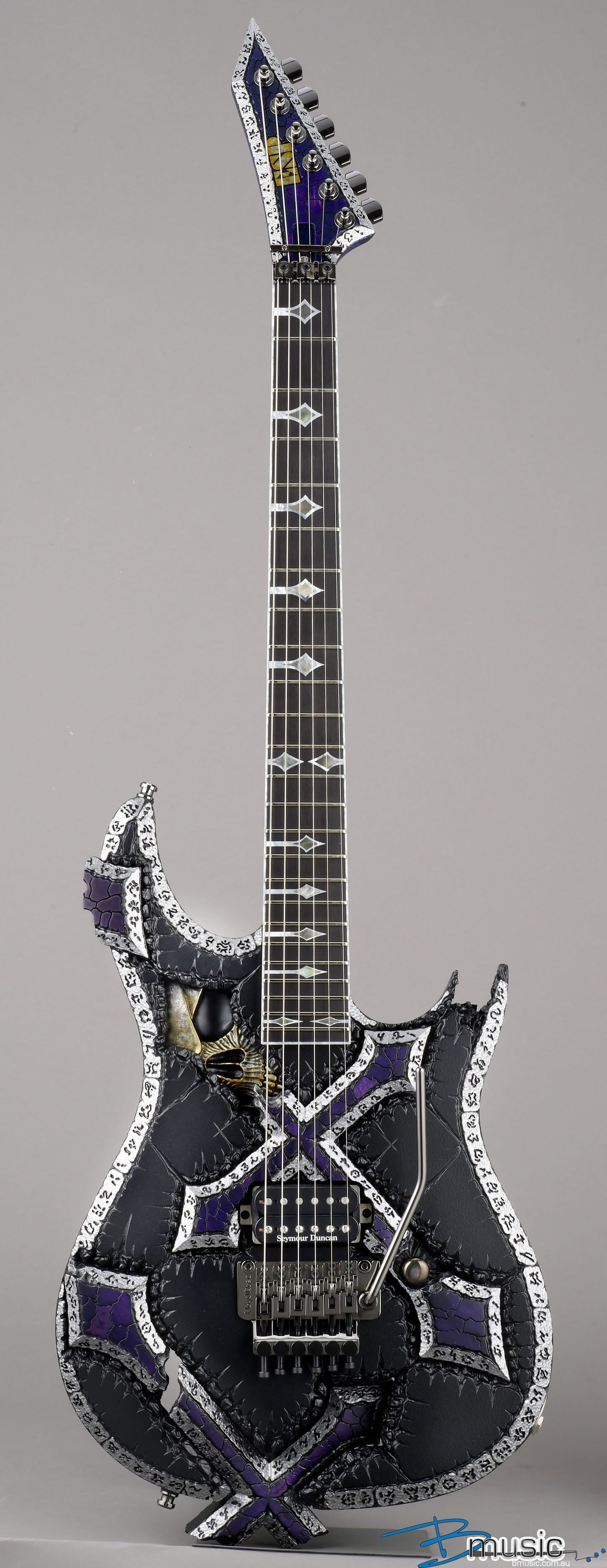 esp kizoku custom electric guitar we buy sell trade guitar pinterest. Black Bedroom Furniture Sets. Home Design Ideas