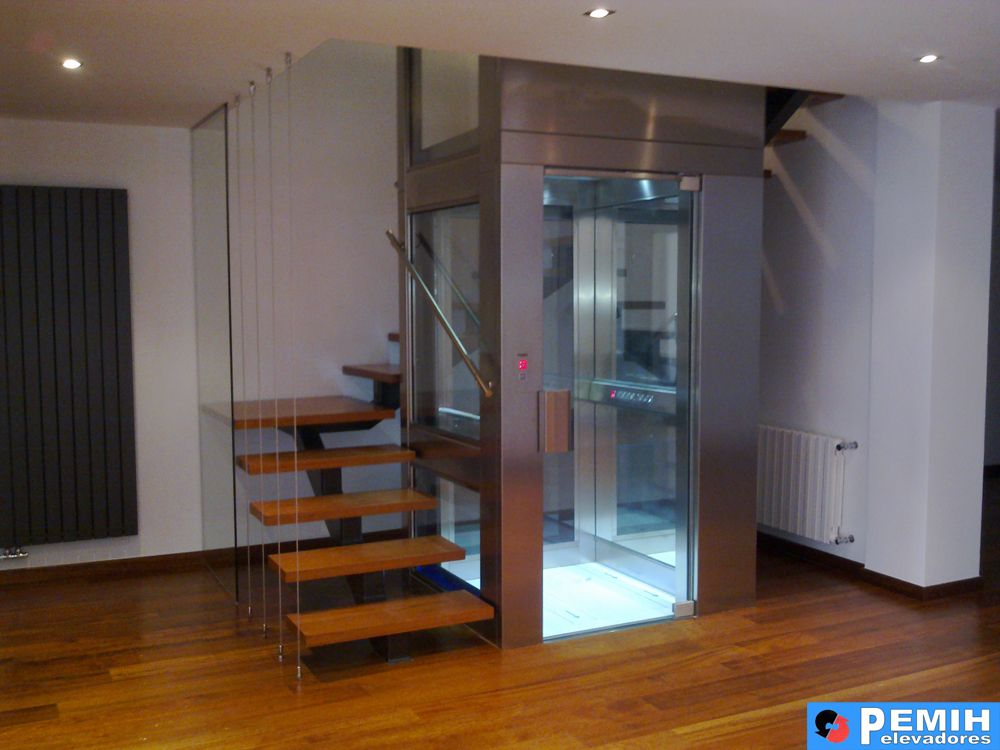 Ascensor panor mico 26 ascensor pinterest - Ascensor casa ...