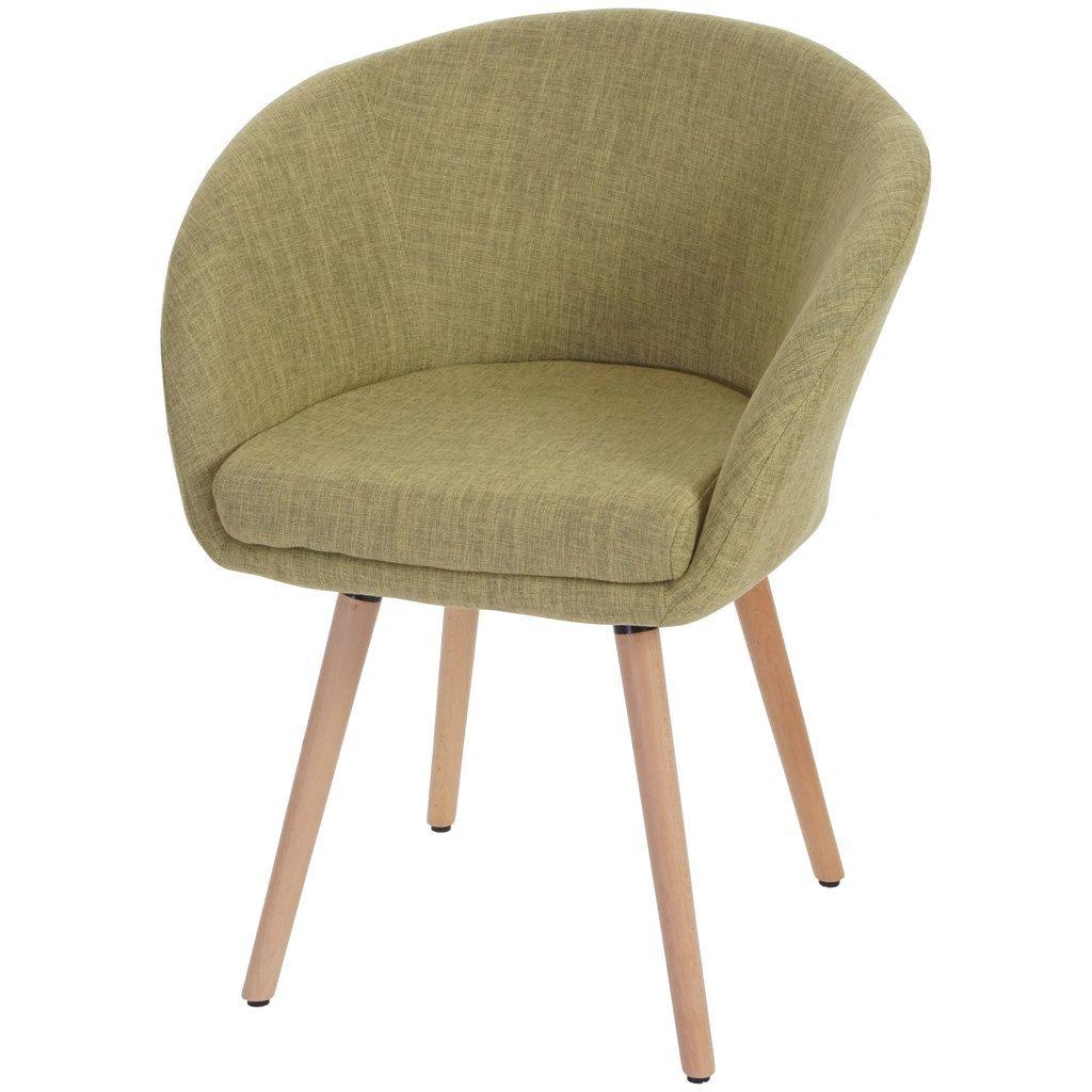 - Lieferumfang: 1x Esszimmerstuhl - Bezug aus Textil (100% Polyester) - 50er Jahre Stil - Füße aus Buchenholz - Füße mit verstellbaren Kunststoffschrauben um Unebenheiten auszugleichen - Rahmen aus Metall und Holz - Mit Armlehnen - Retro Design - Einfache Montage -
