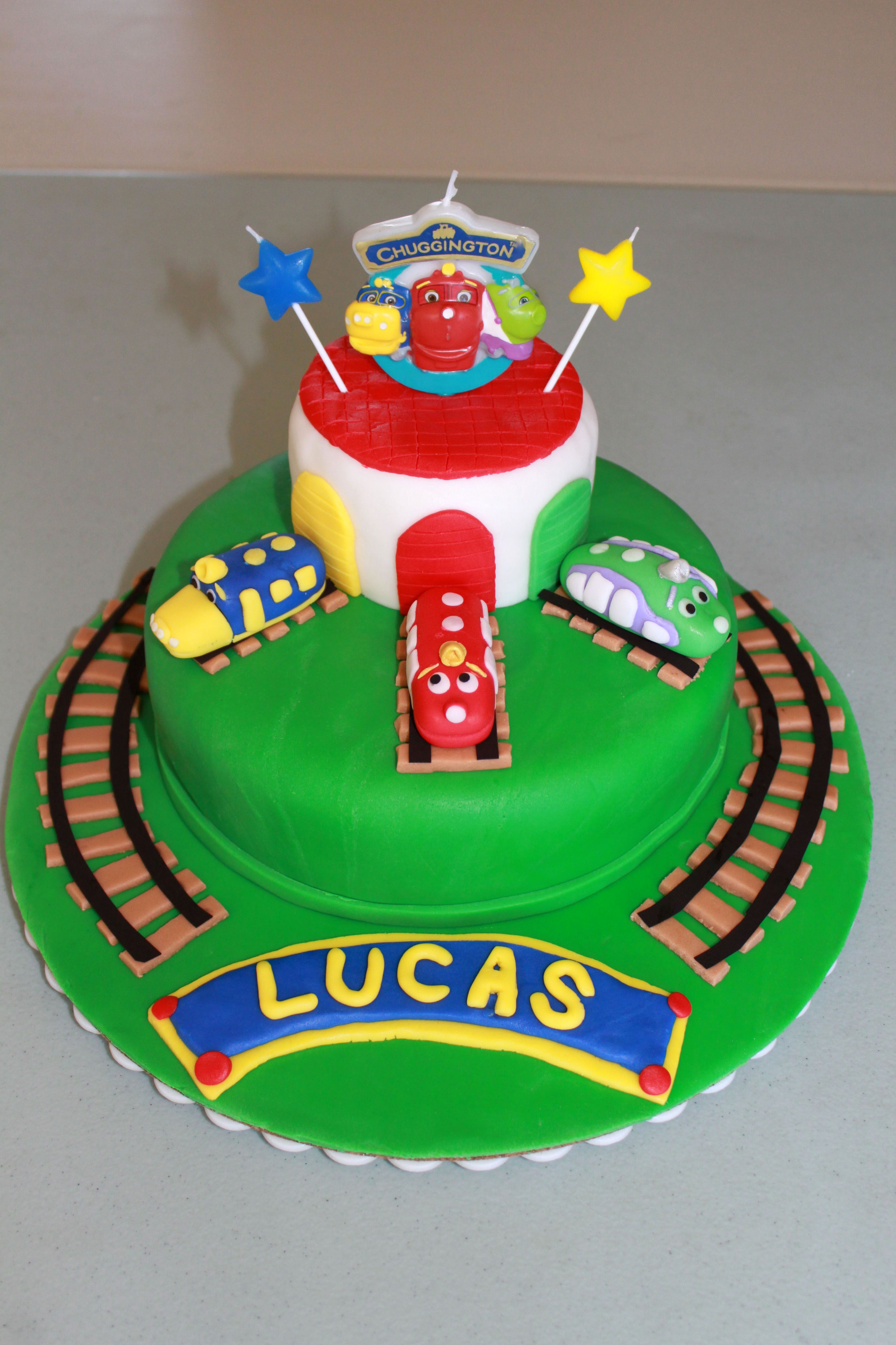 Lucas Chuggington Cake Some Favorite Cakes Ive Made Pinterest