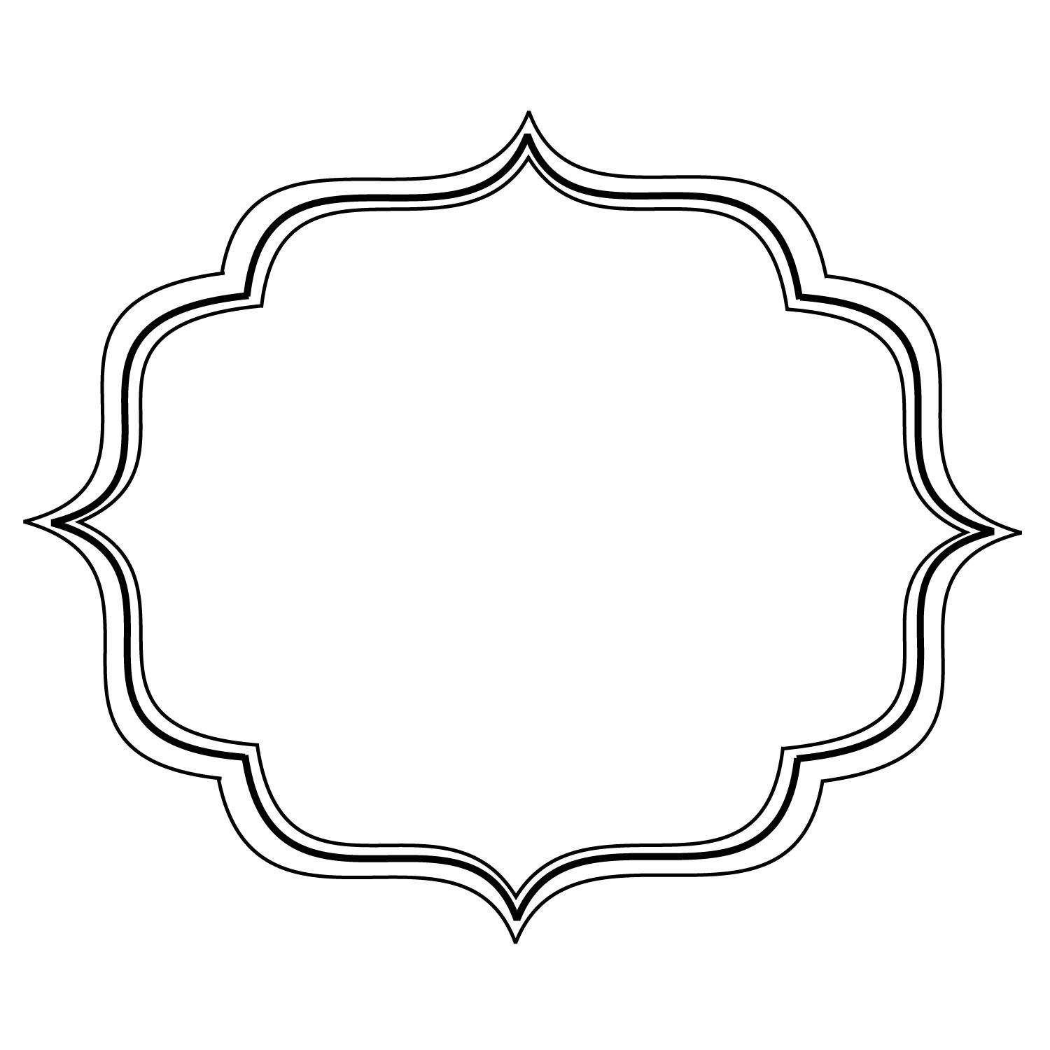 Simple Filigree Scroll Designs | Frame image - vector clip ...