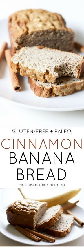 Photo of Cinnamon Banana Bread (Gluten-Free, Paleo)