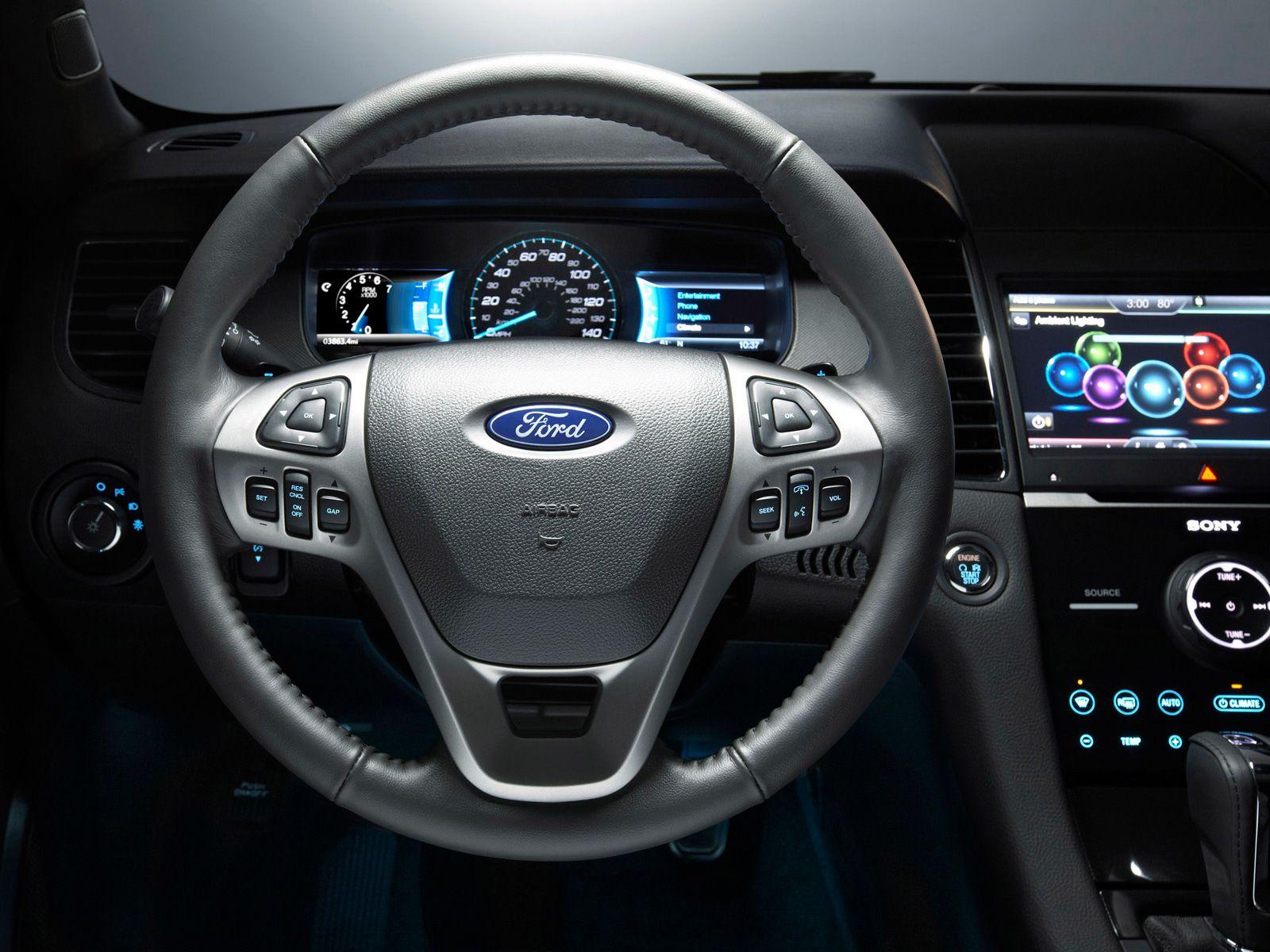 2015 ford taurus sho dashboard interior cool car design