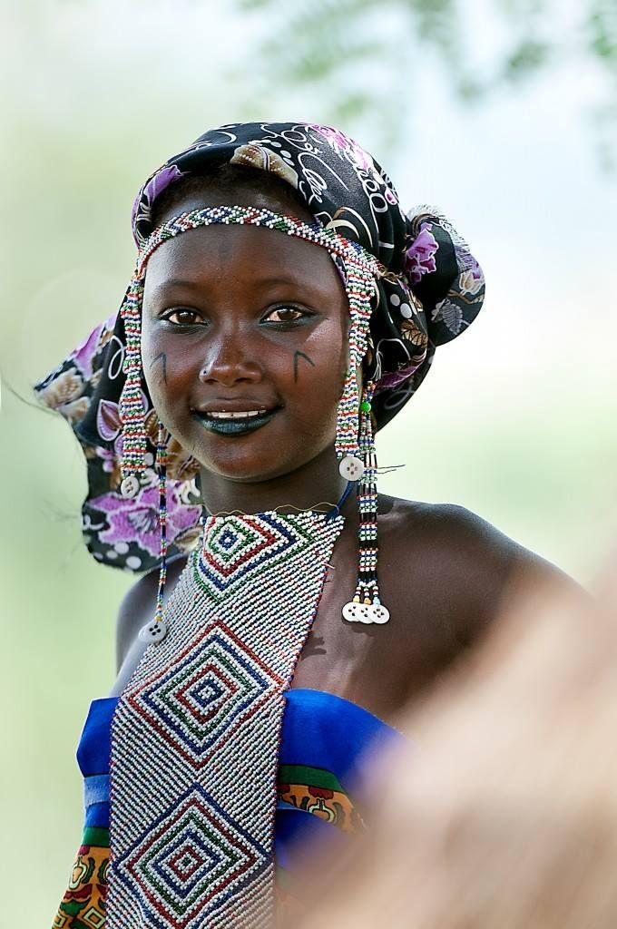schöne Kamerun Frauen