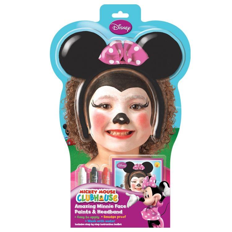 Minnie Yuz Boyama Kiti Cocugunuzun En Sevdigi Disney Kahramanini