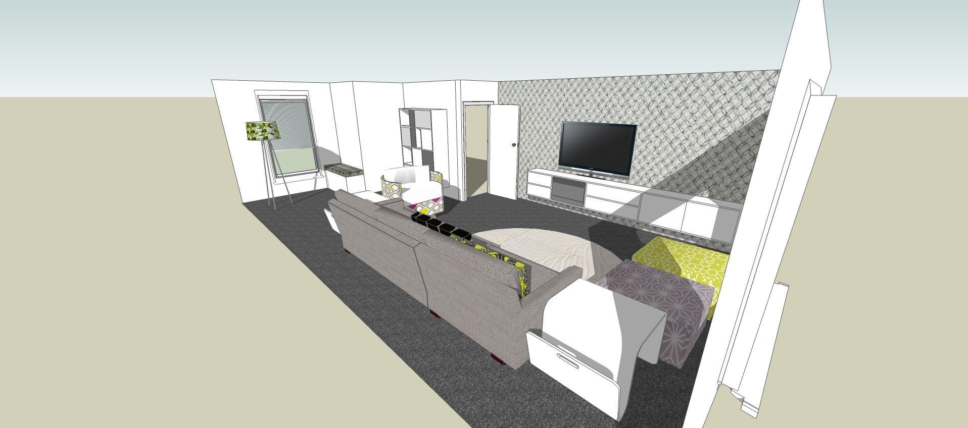 SketchUp Lounge Area | Digital Models | Pinterest | Lounge areas