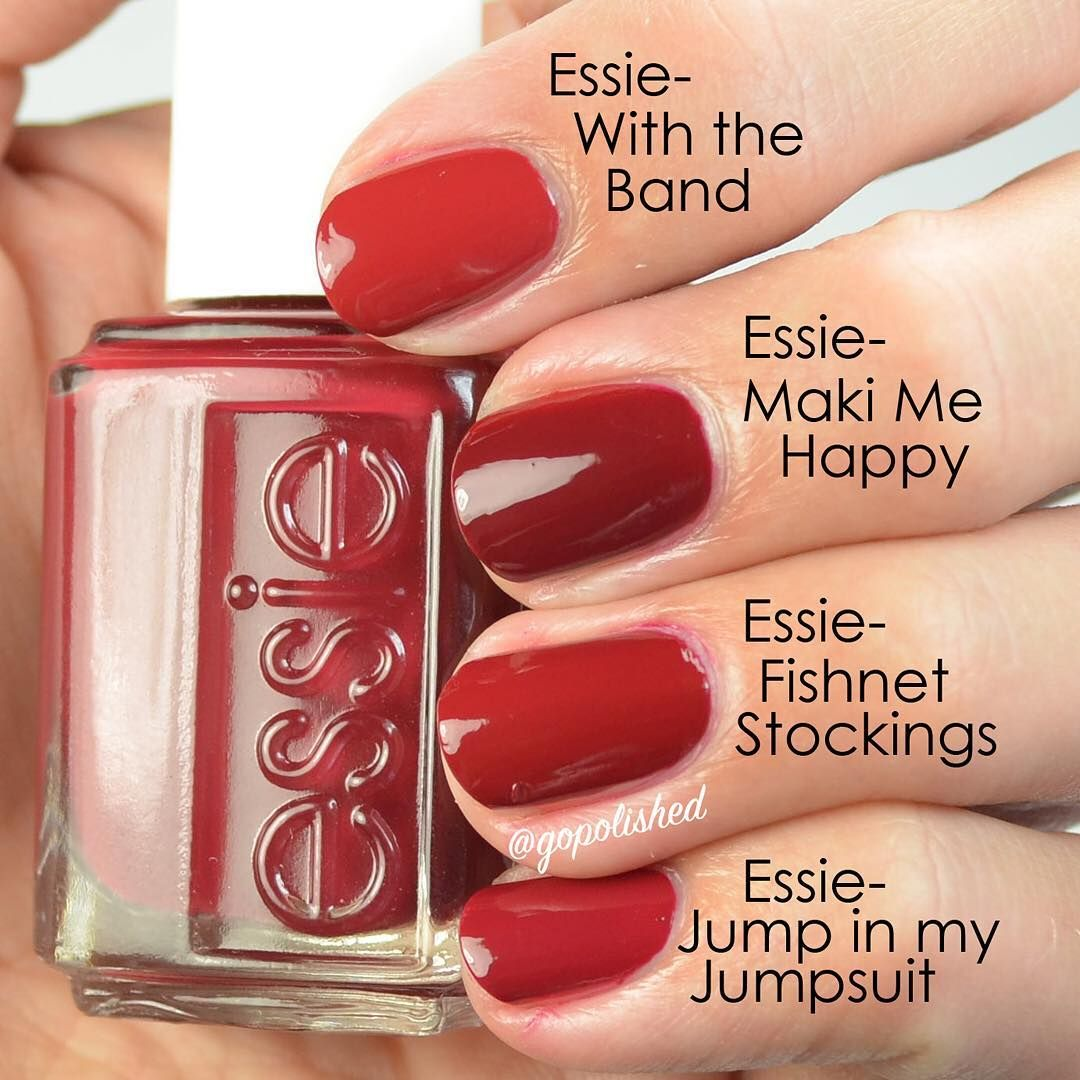 essie maki me happy comparison | esmaltes | Pinterest | Esmalte
