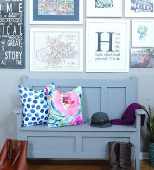 Gorgeous Diy Home Bench Project Ideas That You Love05 ...