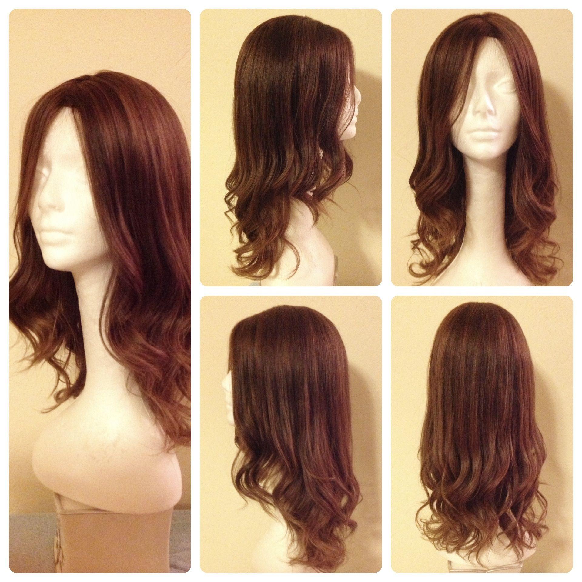 Long Straight Fall Loose Curls At The Bottom Romantic Curling Straight Hair Medium Brown Hair Hair