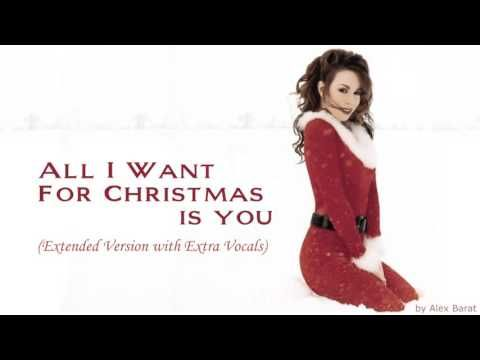 Recessional ---Mariah Carey - All I Want For Christmas Is You ...