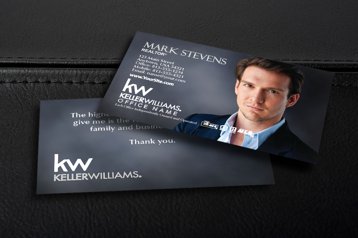 Luxury Real Estate Business Card Design Throughout Coldwell Banker Business Card Template