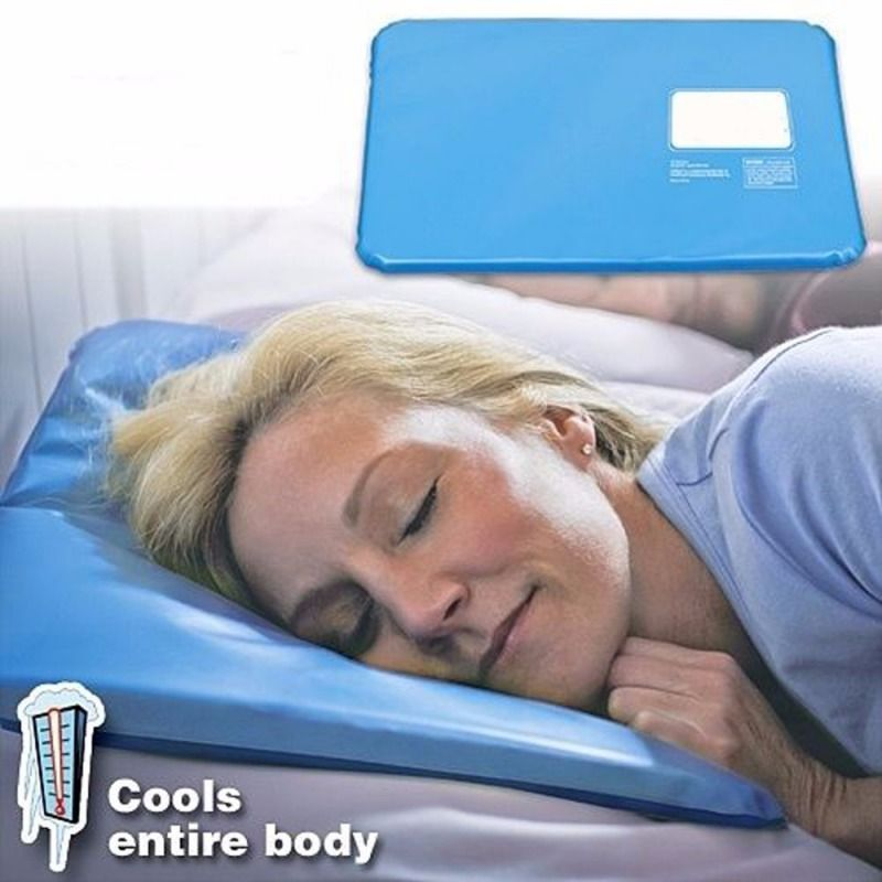16ce6d406 Summer Cooling pillow Sleeping Aid Pad Mat Muscle Relief Cooling Gel ...