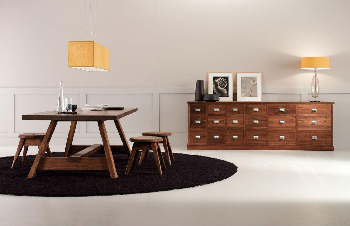 Arredamento thun ~ Riva made in italy brenta table project by matteo thun