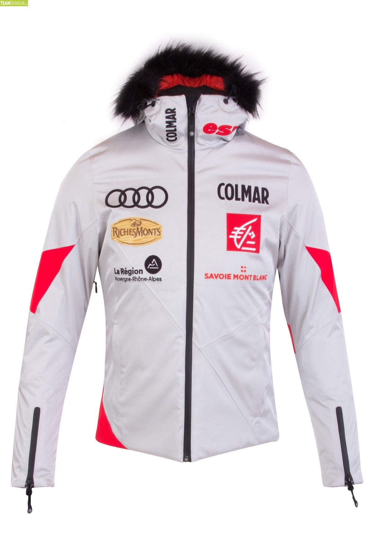 f5336646d1 Colmar Women Moonlight French Team Jacket - White Red