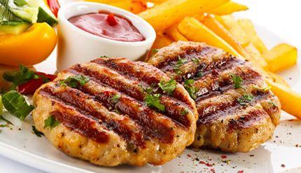 hamburguesas de pavo con diabetes