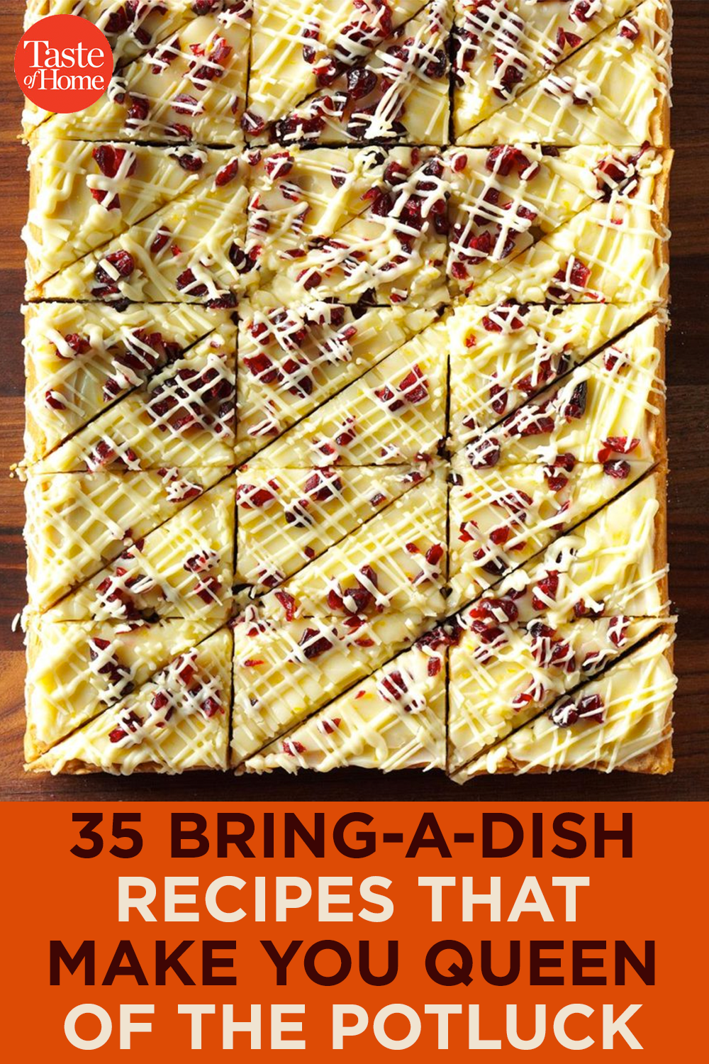 35 Bring-a-Dish Recipes That Make You Queen of the Potluck