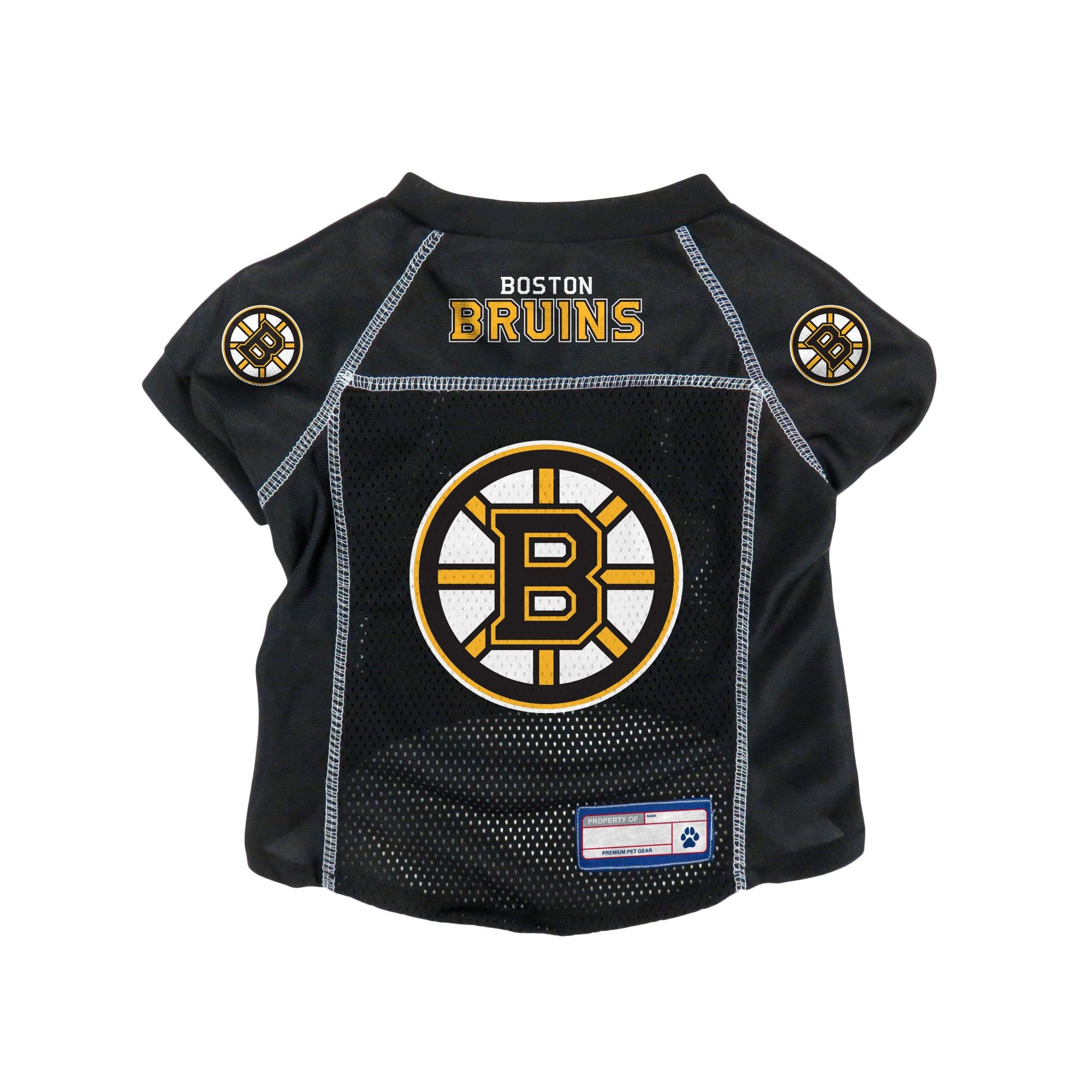 NHL Boston Bruins Pet Jersey - XS 5efe44a24