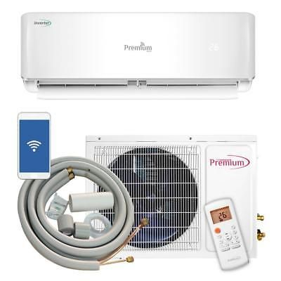 Premium 12k Btu Ductless Mini Split Air Cond 220v 60hz Piaw12164a