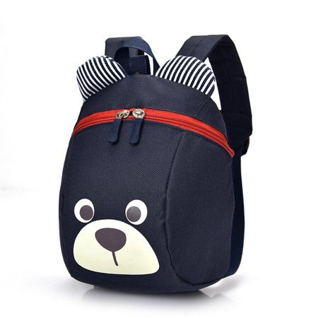 70a44295eb28 Smarit Children Kids Small Toddler Backpack With Leash Bear for Boy Girl  Under 3 Years