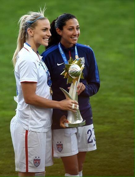carla kariott  on | USA soccer | Soccer