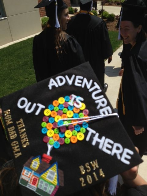 Creative Mortar Board Decoration At Manchester University S