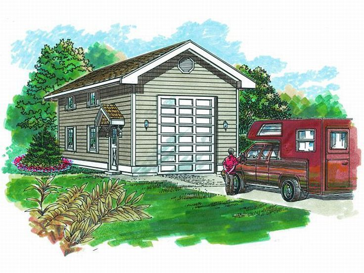 RV Garage Plan 033G0015 Build ideas for new house – Garage Plans With Rv Storage
