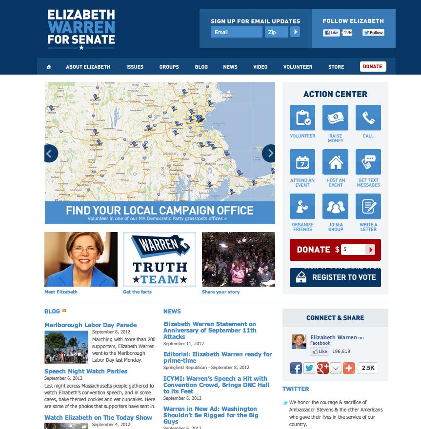 Pin By Erin Freedman On Website Design Page Layout Website Design Democrats Web Design