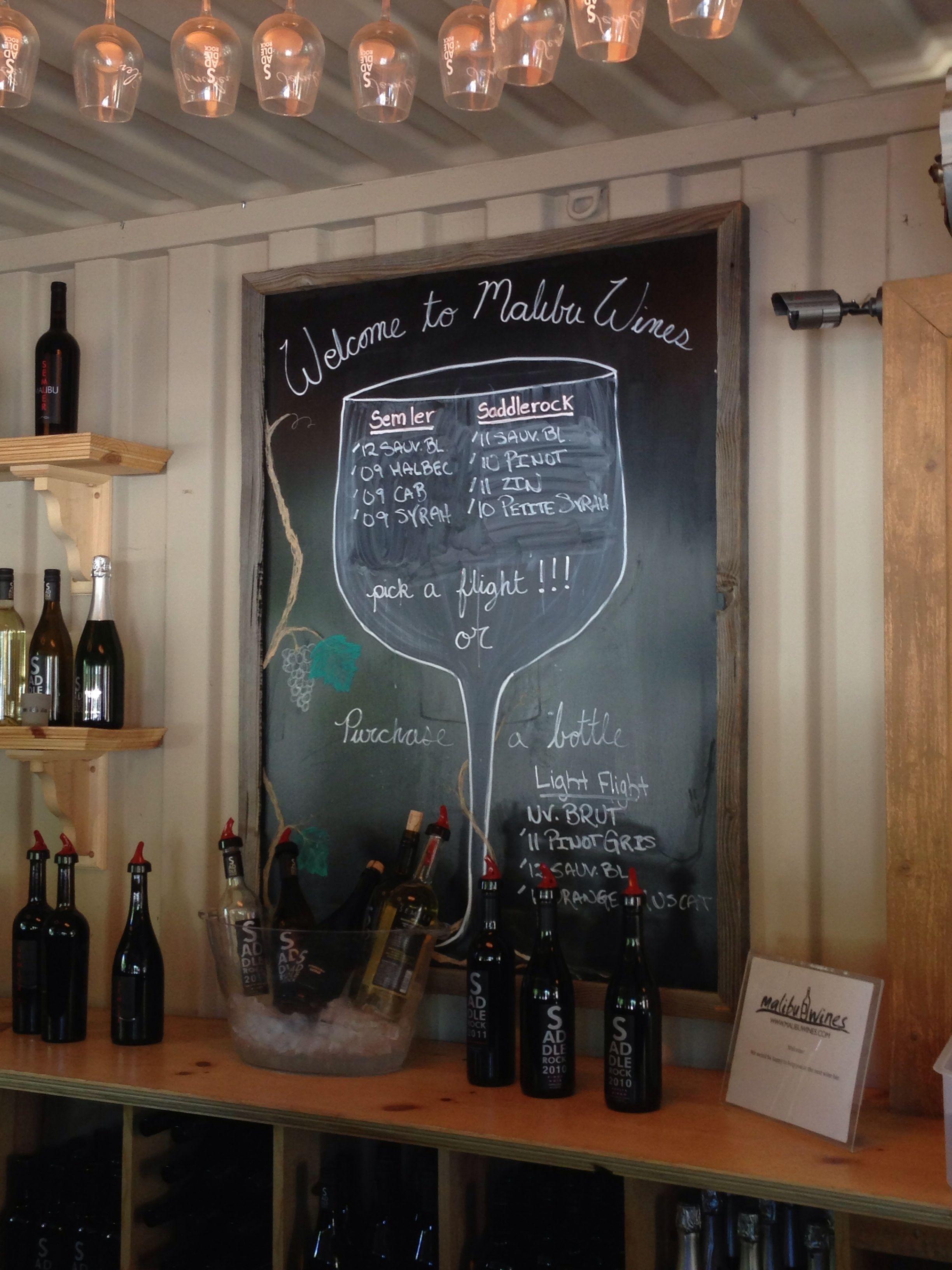 Malibu Wines Tasting Room