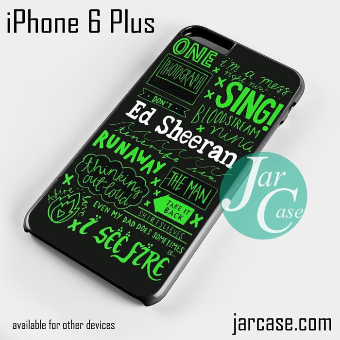 Ed Sheeran Quotes 3 YT for iPhone 6 Plus and other iPhone other iPhone devices