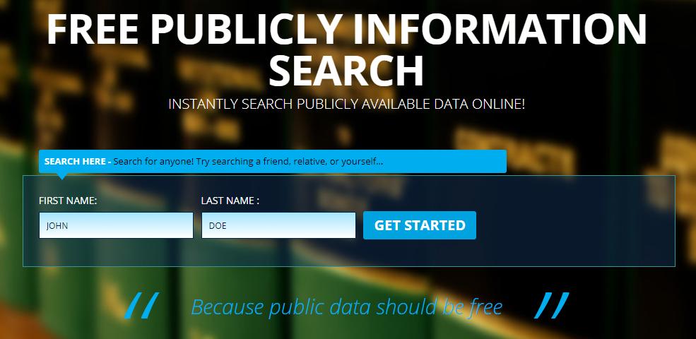 free public records directory