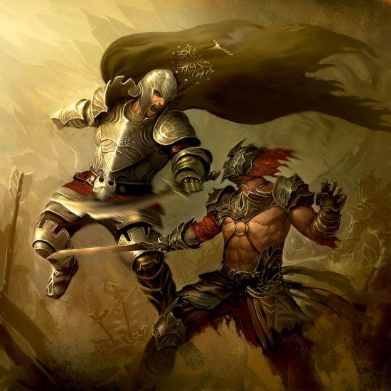 Batalhas, combates e fantasia nas ilustrações de Lius Lasahido