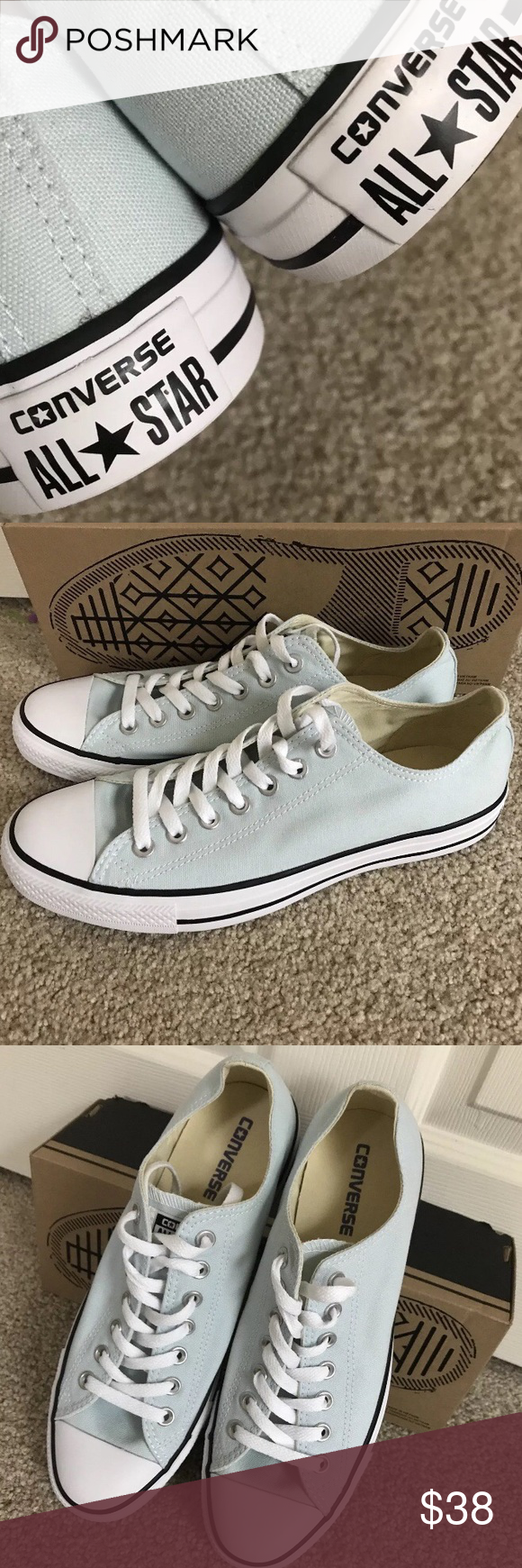 converse all star chuck taylor women size 10.  From A Clean Smoke Free Home.