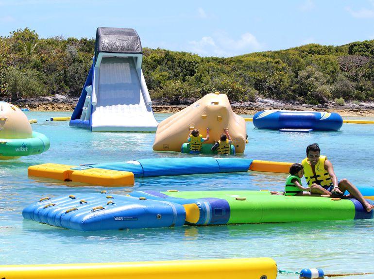 Island Beach Day Nassau Blue Lagoon In 2020 Blue Lagoon