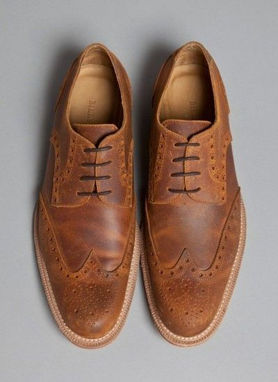 Casual wing tips