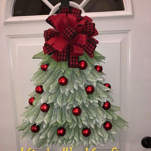 Photo of Sunflower wreath, burlap wreath for the front door