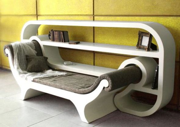 Doesn't look very comfortable, but interesting concept.