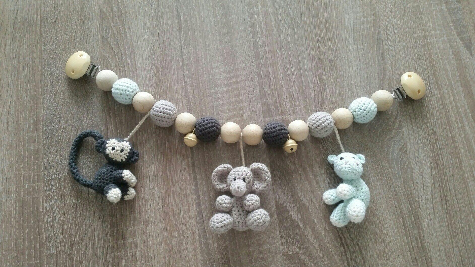Kinderwagenkette Häkeln Häkeln Crochet Crochet Baby Und Crochet
