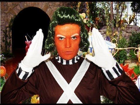 oompa loompa willy wonka makeup tutorial playlist - Oompa Loompa Halloween