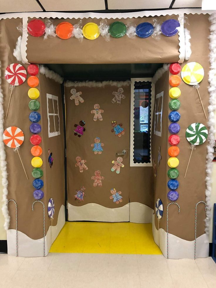 Christmas Door Decorations - Lucky Little Learners