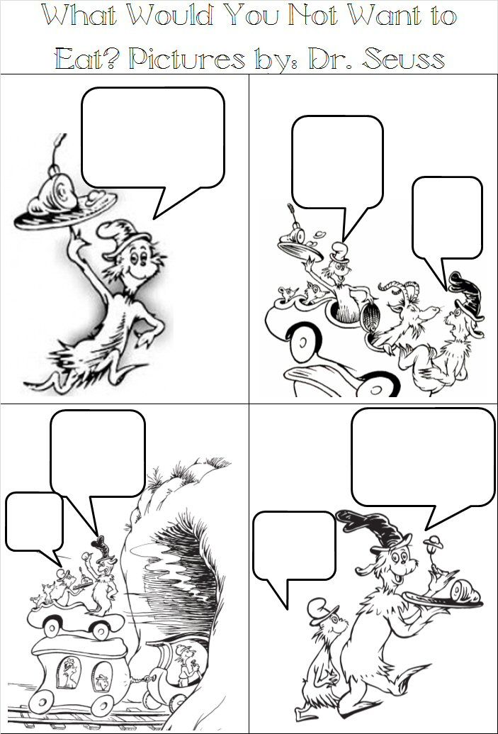 Adventures In Tutoring And Special Education Seuss Comic Strips
