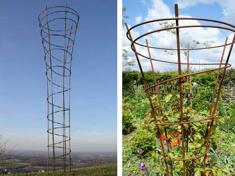 Our Sculptural Metal Garden Arches And Obelisks Are All Handmade By Us And  Are As Beautiful As They Are Functional. Add Our Bird Feeders And Sculpture  To ...