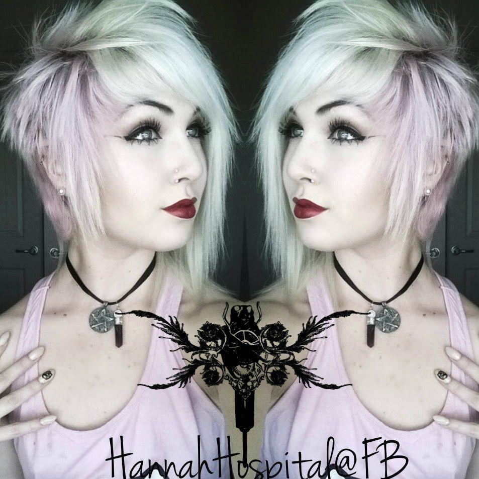 How I Style My Short Alternative Hair Emo Scene Goth Punk