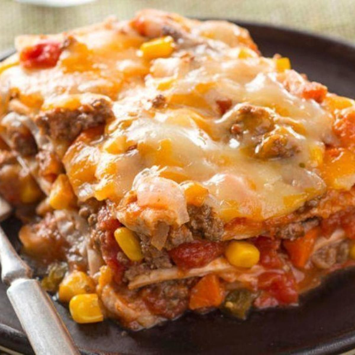 Best Layered Burrito Bake Recipe Recipe Recipes Kraft Recipes Burrito Bake Recipe