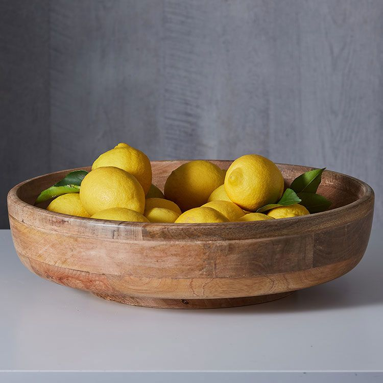Photo of Salisbury & Co Grove Fruit Bowl Large 42.5×11.5cm – Fast Shipping