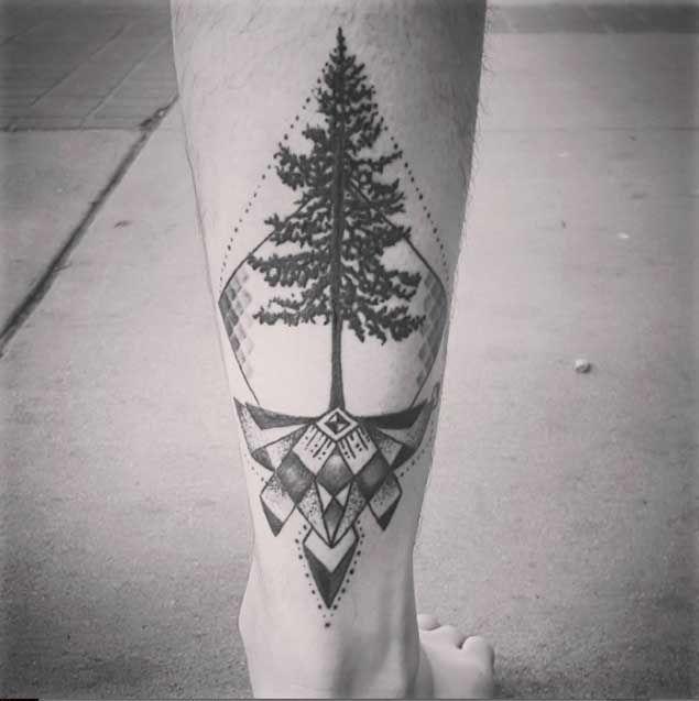 9031c60dbb114 40+ Achingly Beautiful Tree Tattoos   — Tattoos —   Tattoos ...