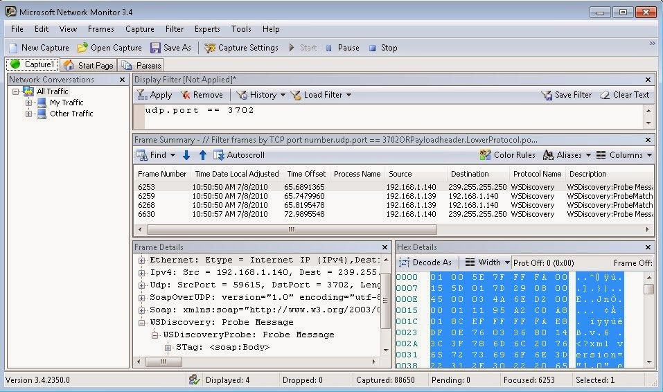MICROSOFT NETWORK MONITOR NETMON WINDOWS 7 X64 DRIVER DOWNLOAD