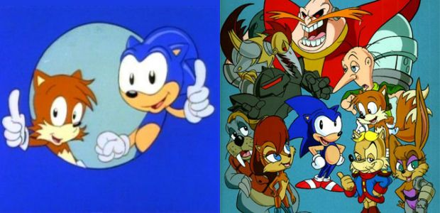 Image result for sonic the hedgehog TV Series