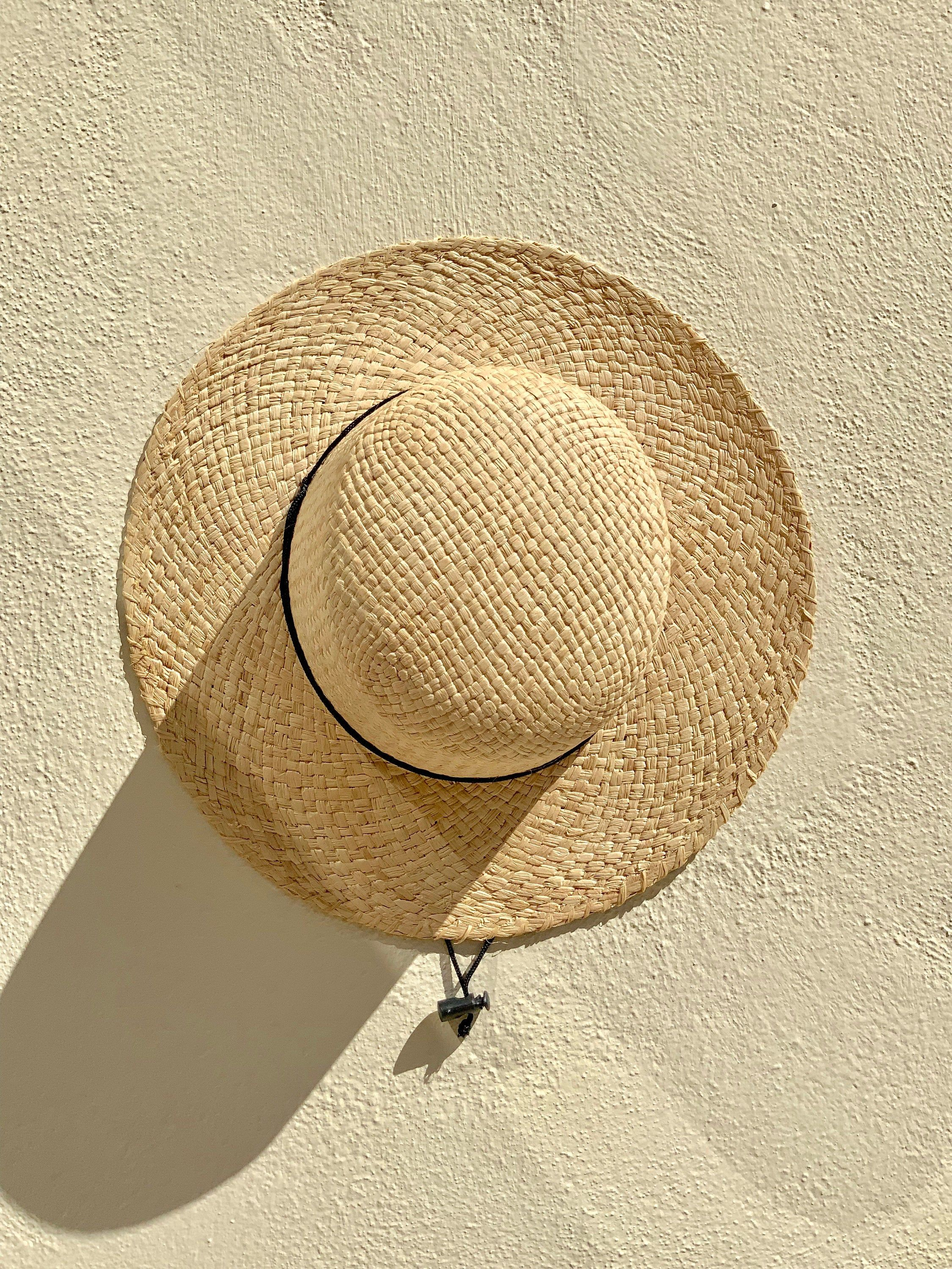 Seconds Sold With Imperfections Inside The Hat Medium Brim Etsy Raffia Hat Classic Hats Raffia