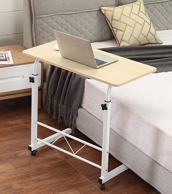 Akway Mobile Laptop Desk Cart 31.5 x 15.7 inch