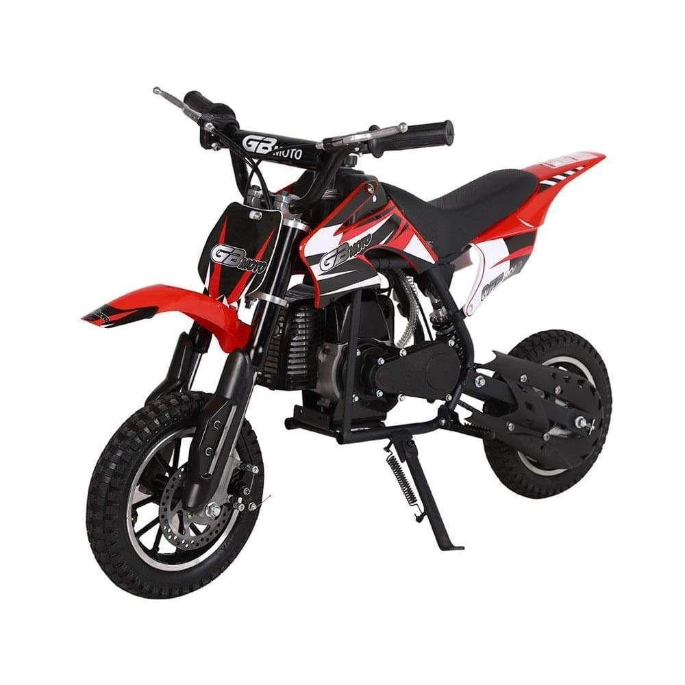 Mototec 49cc Gb Dirt Bike Red Mt Db Gb Red Dirt Bikes For Kids